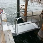 Floating Dock Aluminum Access Ramp