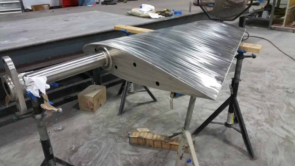 Commercial Boat Stabilizer Fin